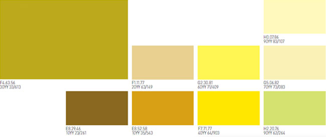 Amarillos pinturas montana for Pintura color ocre