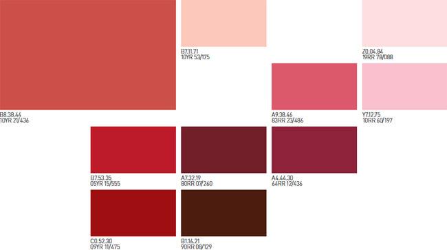 Rojos pinturas montana for Pared color cereza