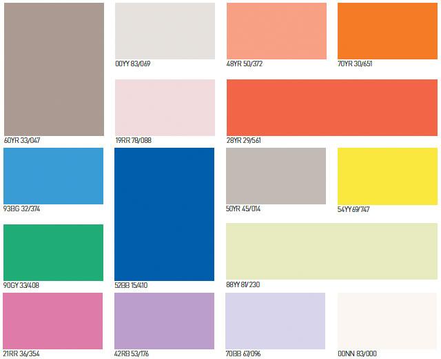 Muestra de colores de pintura para interiores affordable for Muestras de colores de pintura